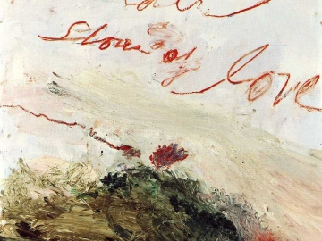 Cy Twombly - Wilder Shores of Love