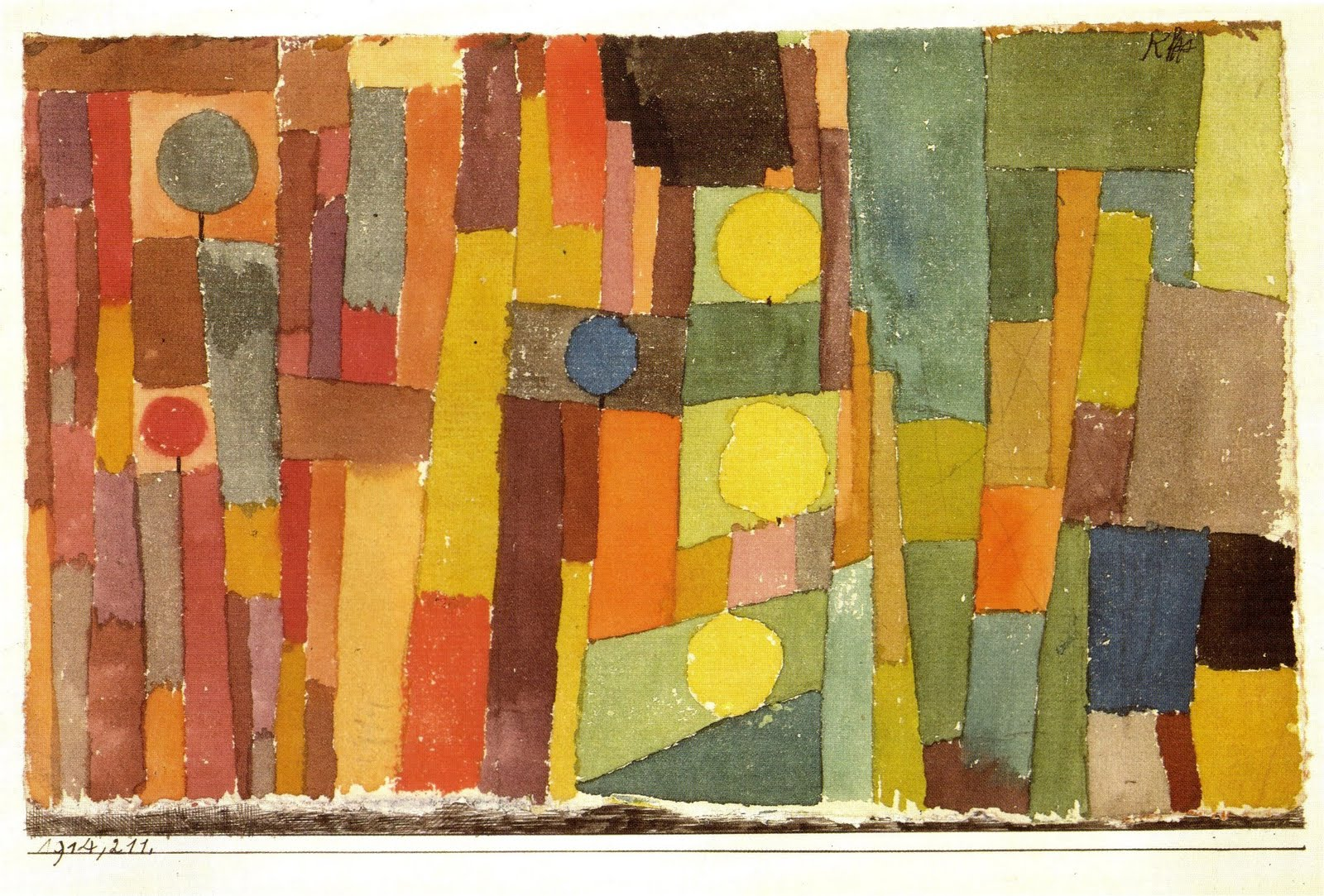 Paul Klee - In the Style of Kairouan