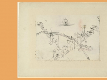 Paul Klee - Houses Drawn by Oxen