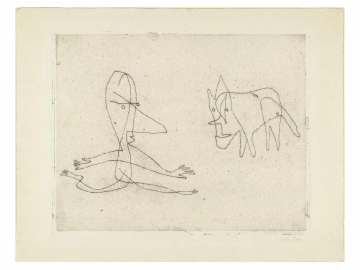 Paul Klee - Why Does He Run?