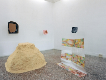 Karla Black - Installation view