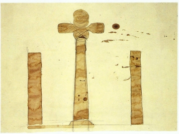 Joseph Beuys - Meteor At The Place Of Crosses