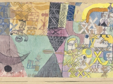 Paul Klee - Asian entertainers