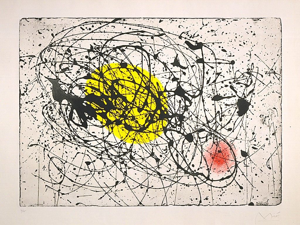 Joan Miro - Yellow Moon Bird