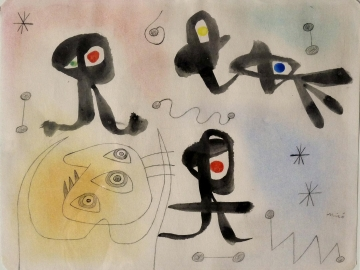 Joan Miro - Composition