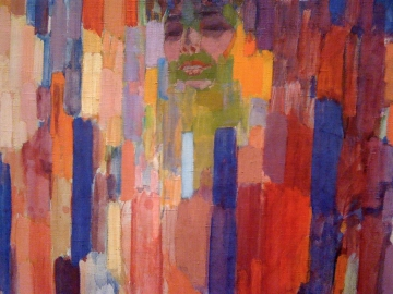 Frantisek Kupka - Madame Kupka between verticals