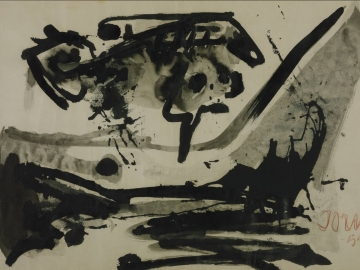 Asger Jorn - The Black Flight