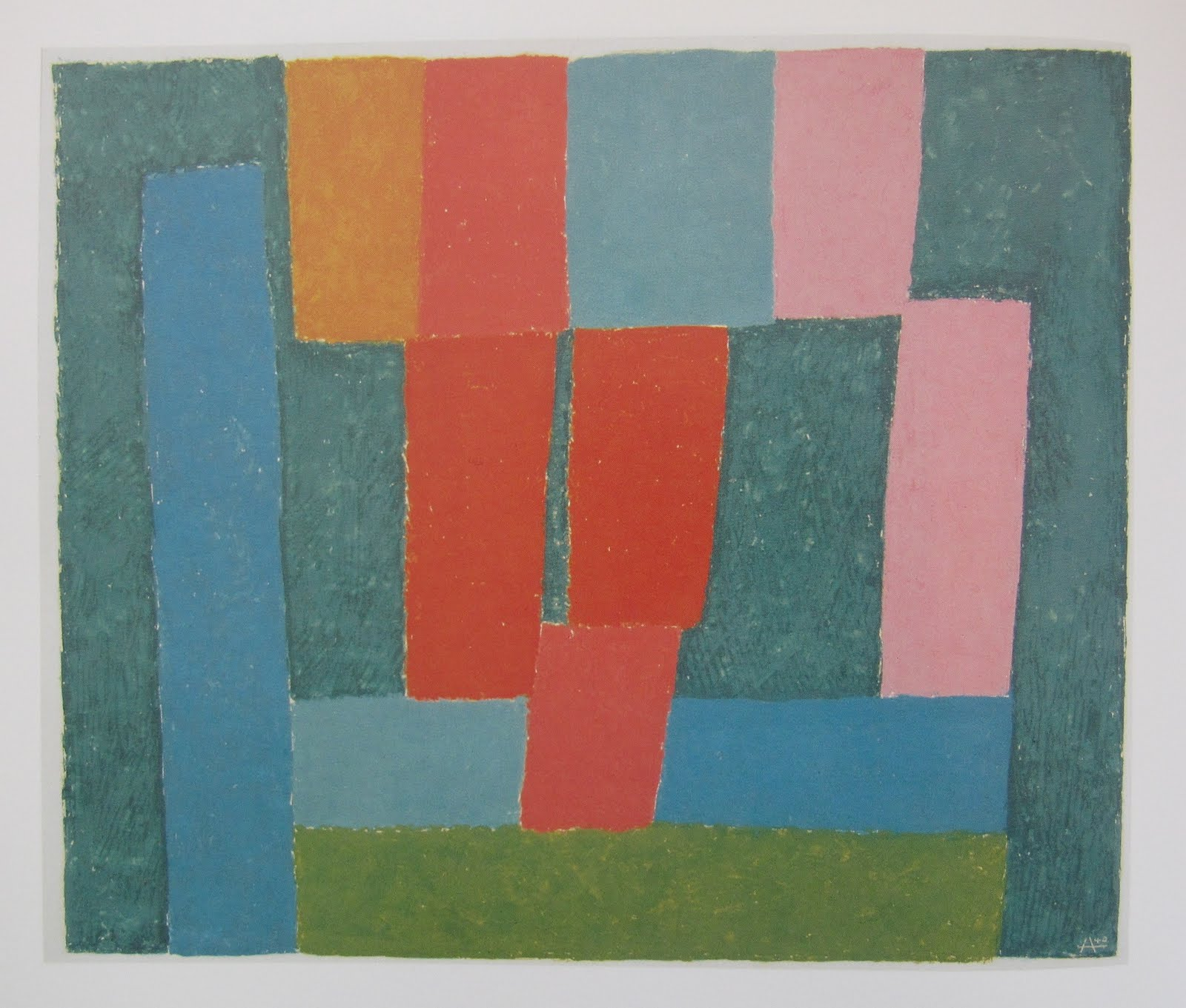 Josef Albers - Growing