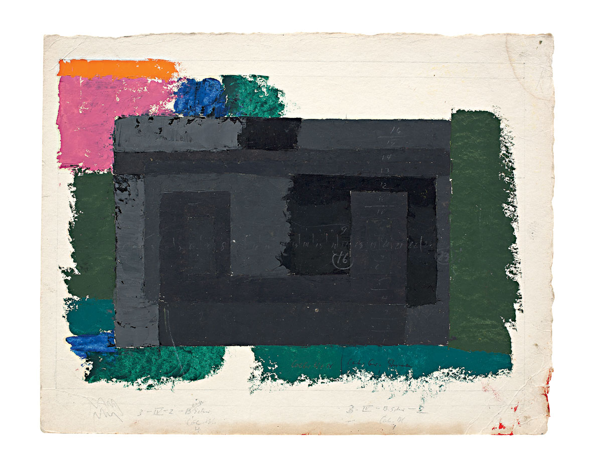 Josef Albers - Study for a Adobe