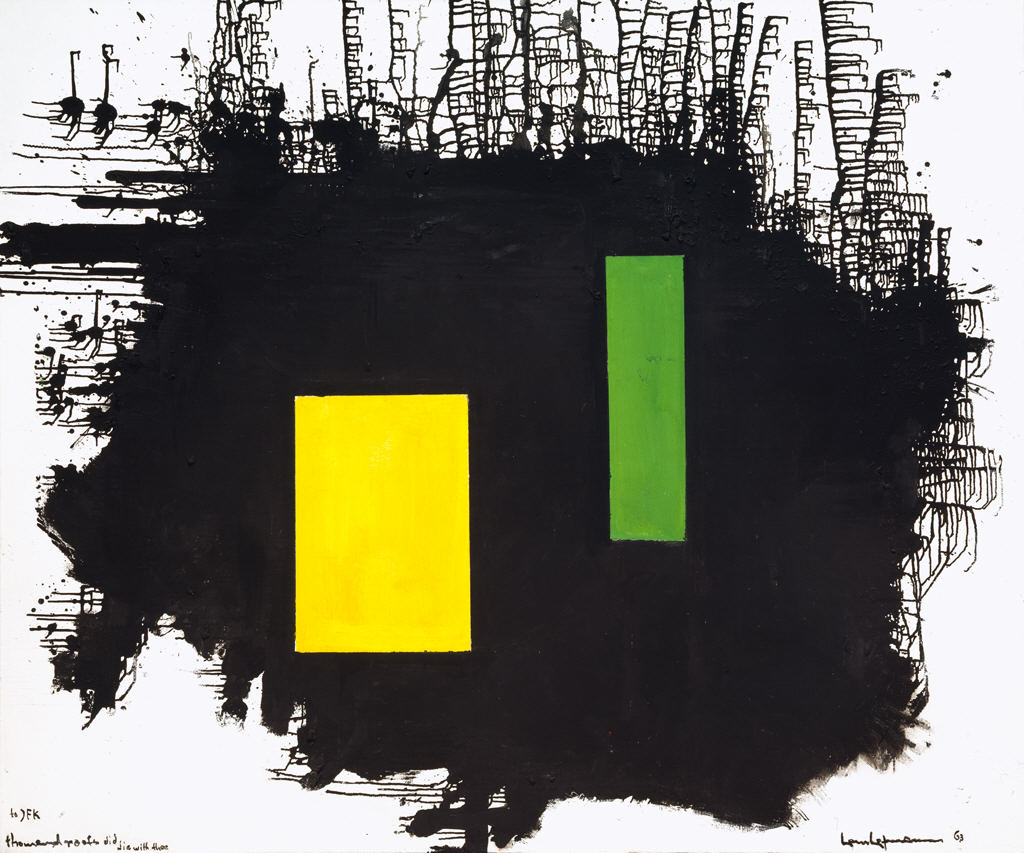 Hans Hofmann - A Thousand Roots Did Die With Thee
