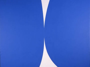 Ellsworth Kelly - Blue white