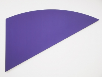 Ellsworth Kelly - Violet Curve I