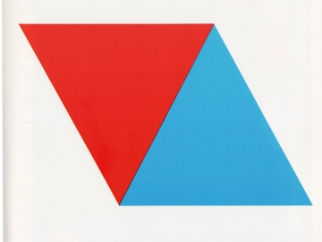 Ellsworth Kelly - Red Blue