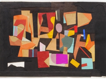 Ad Reinhardt - Paper Collage