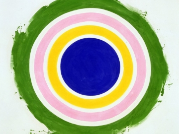 Kenneth Noland - Half