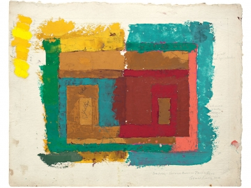 Josef Albers - Study for a Variant
