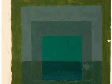 Josef Albers - Color Study for Homage to the Square