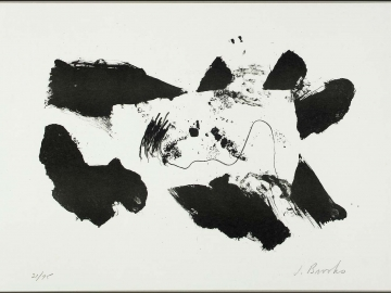 James Brooks - Black and White
