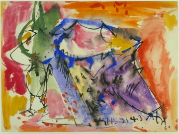 Hans Hofmann - Untitled