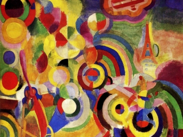 Robert Delaunay - Homage to Bleriot