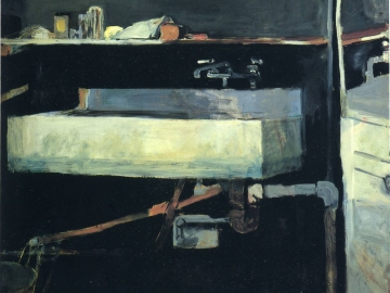 Richard Diebenkorn - Corner of Studio Sink