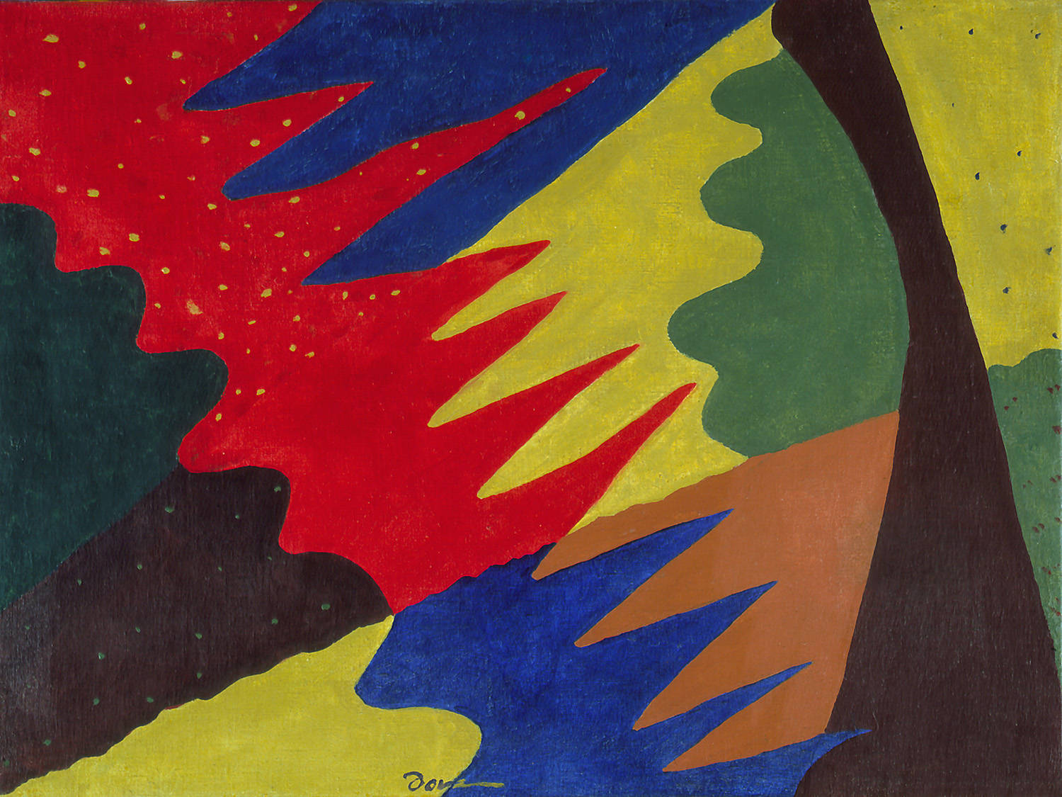 Arthur Dove - Space Divided