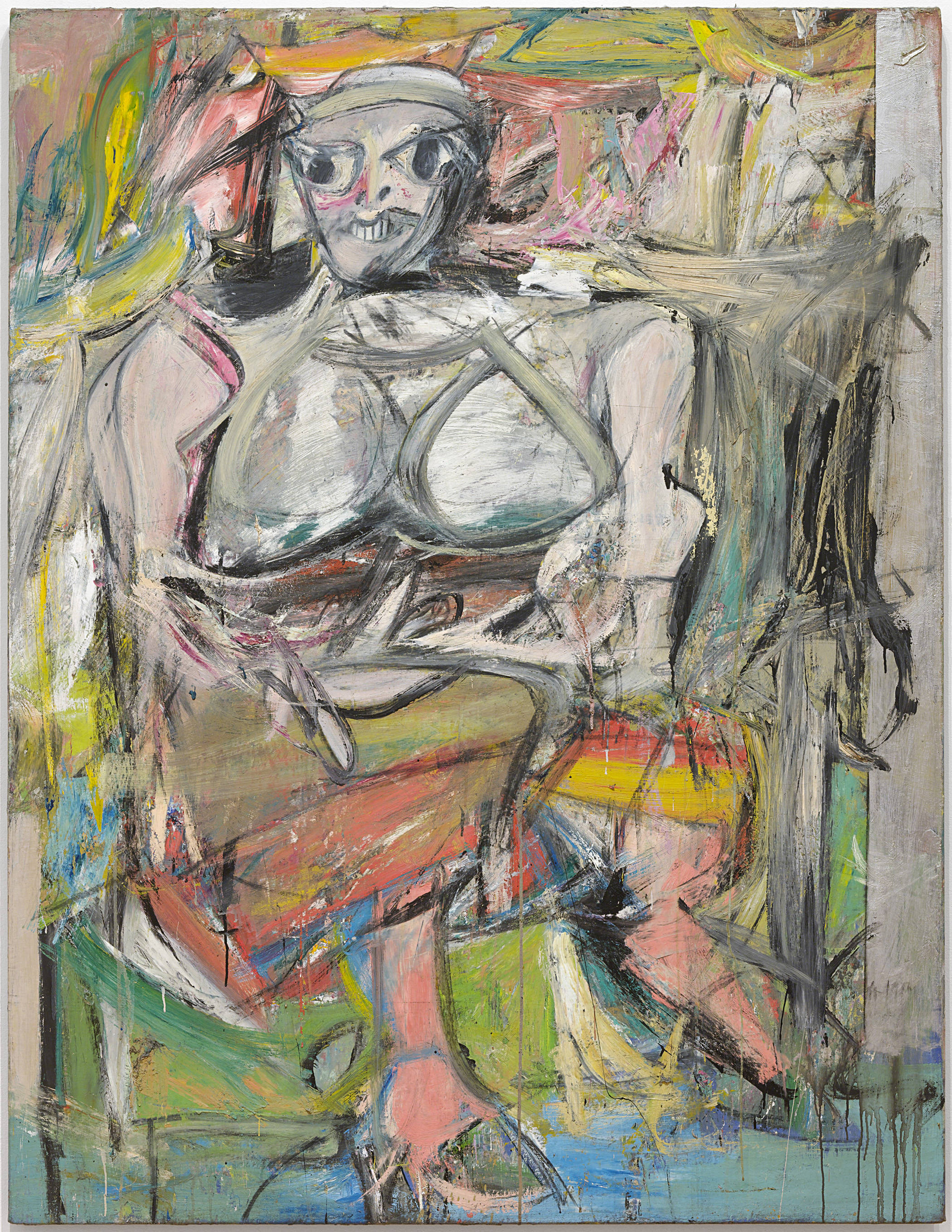 Willem de Kooning - Woman I