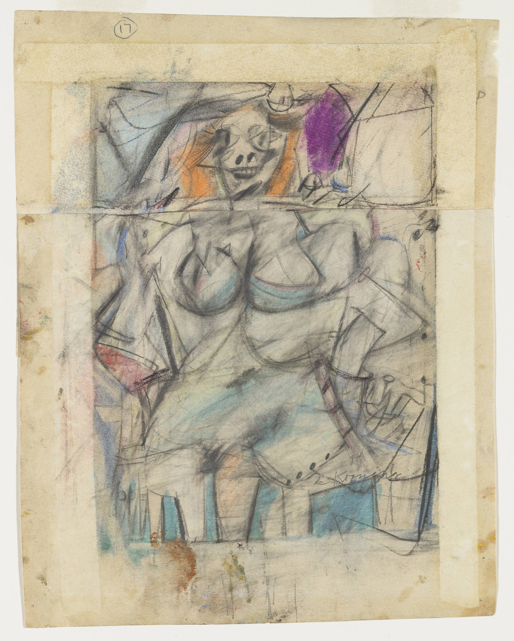 Willem de Kooning - Seated Woman