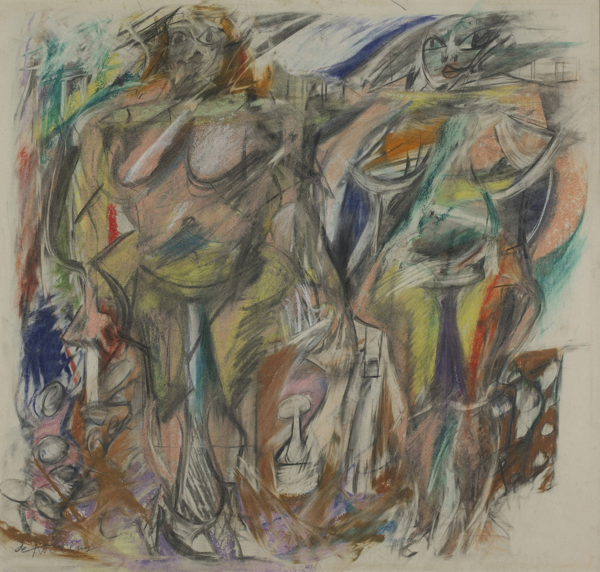 Willem de Kooning - Two Women with Still Life