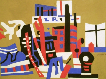 Stuart Davis - New York Waterfront